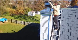 horvath chimney inspection in progress